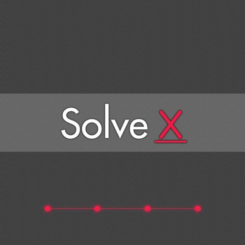 Solve X